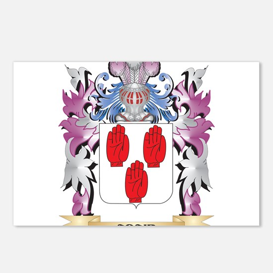 Adair Coat of Arms (Famil Postcards (Package of 8)