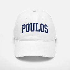 POULOS design (blue) Baseball Baseball Cap