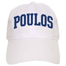 POULOS design (blue) Baseball Cap