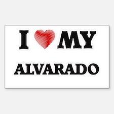 I love my Alvarado Decal
