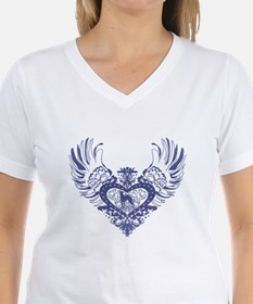 Greyhound Winged Heart T-Shirt