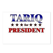 TARIQ for president Postcards (Package of 8)