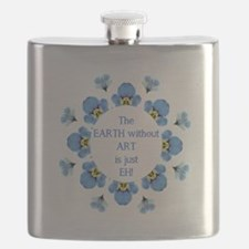 The Earth without Art is just EH Quote Flask