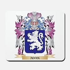 Adan Coat of Arms (Family Crest) Mousepad