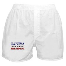 TANIYA for president Boxer Shorts