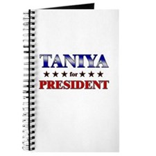 TANIYA for president Journal
