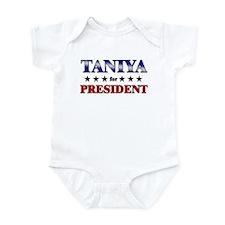 TANIYA for president Infant Bodysuit