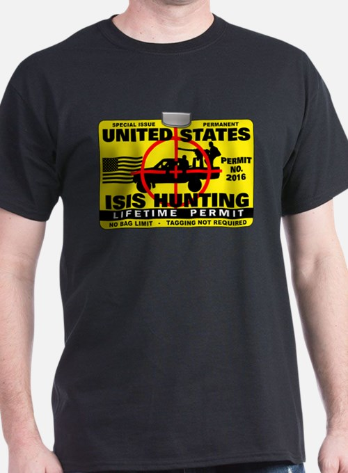 ISIS Hunting Permit T-Shirt