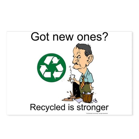 Recycle. Now. Do it Postcards (Package of 8)