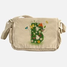 Cute Whimsical daisy Messenger Bag