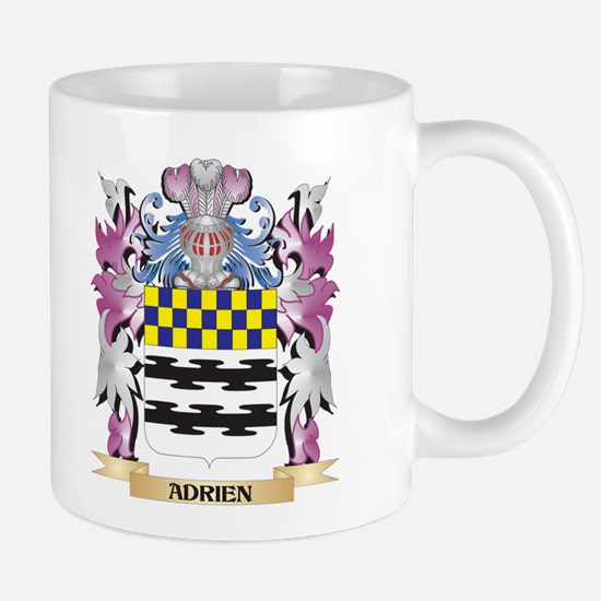 Adrien Coat of Arms (Family Crest) Mugs
