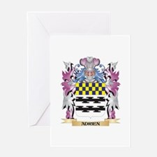 Adrien Coat of Arms (Family Crest) Greeting Cards