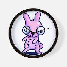 Bunny Jiggle Wall Clock