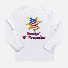 Gramps' Little Firecracker Long Sleeve T-Shirt