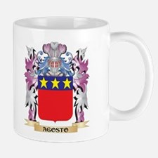 Agosto Coat of Arms (Family Crest) Mugs