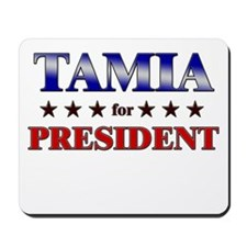TAMIA for president Mousepad
