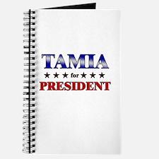 TAMIA for president Journal