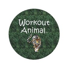 "TOP Workout Animal 3.5"" Button"
