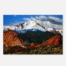 Unique Mountain peak Postcards (Package of 8)
