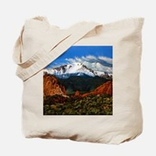 Cute Mountain peak Tote Bag