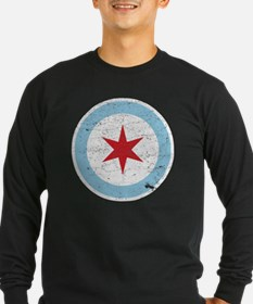 Cute Chicago city flag T