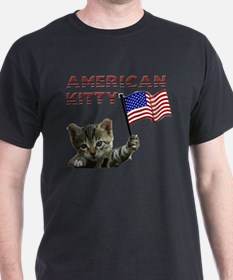 American Kitty T-Shirt