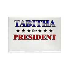 TABITHA for president Rectangle Magnet