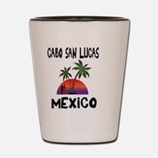 Cabo San Lucas Mexico Shot Glass