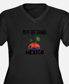 Playa Del Carmen Mexico Plus Size T-Shirt