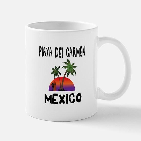 Playa Del Carmen Mexico Mugs