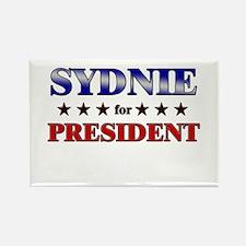 SYDNIE for president Rectangle Magnet