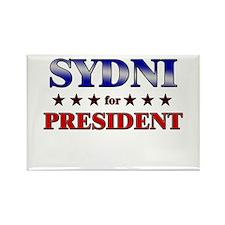 SYDNI for president Rectangle Magnet