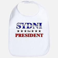 SYDNI for president Bib
