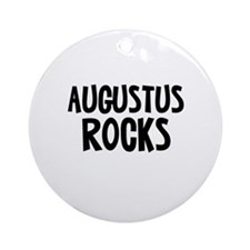 Augustus Rocks Ornament (Round)