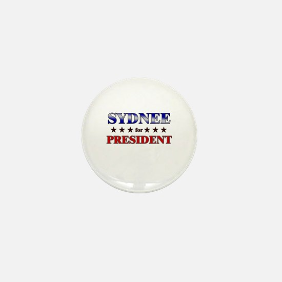 SYDNEE for president Mini Button