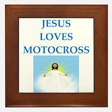 motocross Framed Tile