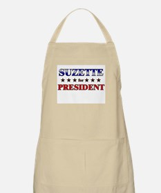SUZETTE for president BBQ Apron