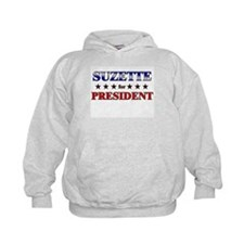 SUZETTE for president Hoodie