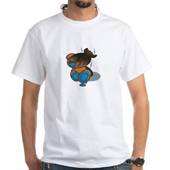 Burnt - White T-Shirt