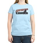 Adventures In Snowmobiling Women's Light T-Shirt