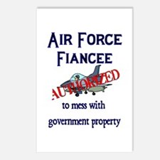 Air Force Fiancee Authorized Postcards (Package of