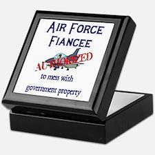 Air Force Fiancee Authorized Keepsake Box