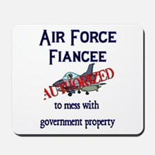 Air Force Fiancee Authorized Mousepad