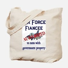 Air Force Fiancee Authorized Tote Bag