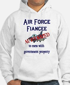 Air Force Fiancee Authorized Hoodie