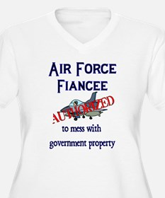 Air Force Fiancee Authorized T-Shirt