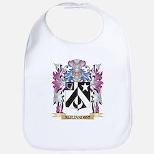 Alejandro Coat of Arms (Family Crest) Bib
