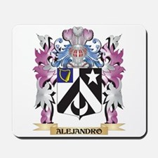 Alejandro Coat of Arms (Family Crest) Mousepad