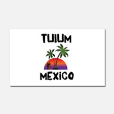 Tulum Mexico Car Magnet 20 x 12