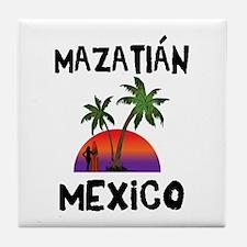 Mazatlan Mexico Tile Coaster